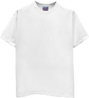 Buy Lifeline Classic White Round Neck T-shirt