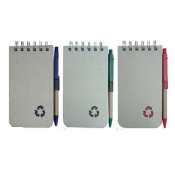 Buy Recycled Notebook with Pen NB3091