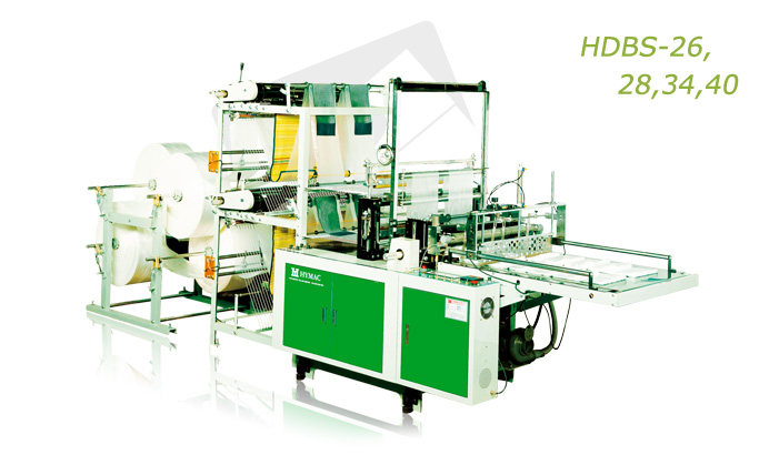 Buy High efficient double deck sealing system bags making machine