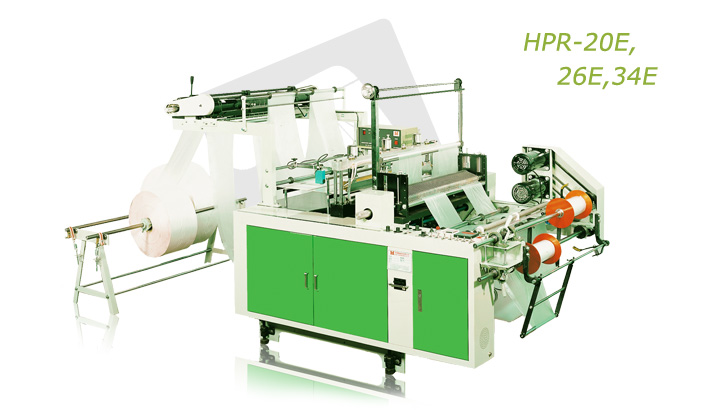 Buy High Speed perforated bag on roll making machine