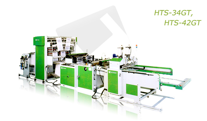 Buy Fully Automatic Servo Driver Two lines T-Shirt Bag Making Machine With Gusseting Unit