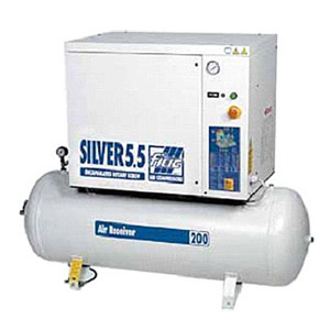 Buy Silver 5.5/300 Rotary Screw Compressors