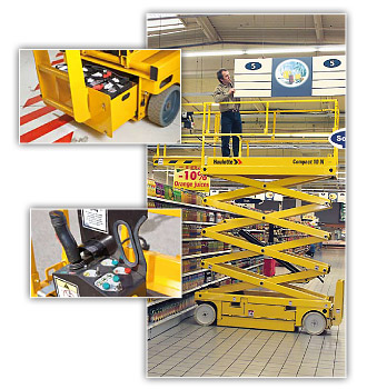Buy Compact 8 | Compact 10 N scissor lifts