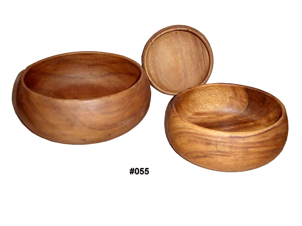 Buy Bowl made ​​from a solid piece of wood abacus.