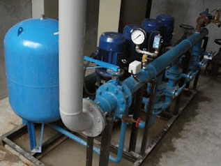 Buy Quadruplex (4-pumps) Constant Pressure System with vertical in-line centrifugal pumps