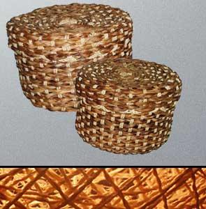 Buy Baskets for storing utensils.
