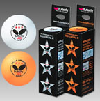Buy Butterfly 40mm 3 Star balls