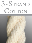 Buy Cotton 3-strand rope