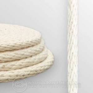 Buy 7/32 Cotton Solid Braid Rope