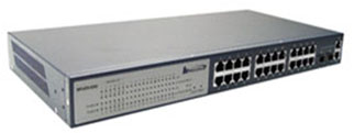 Buy WPoES-8262 24-port L2 Managed PoE Switch