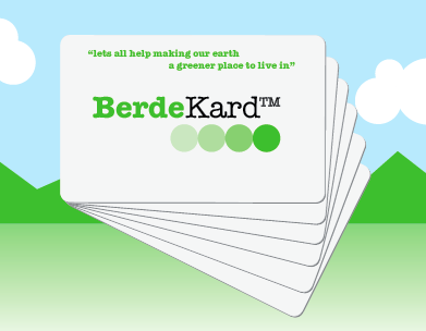 Buy BerdeKard PVC cards