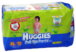 Huggies Pull-Ups Pants Diapers