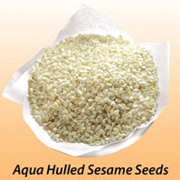 Buy Aqua Hulled Sesame Seeds