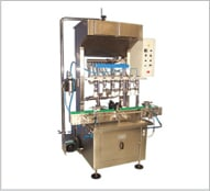 Buy Automatic Linear 6 - Heads Pressure Filling Machine