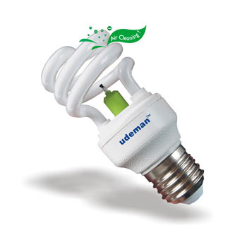 Buy 15 Watt Air Purifier Light Bulb Photocatalyst