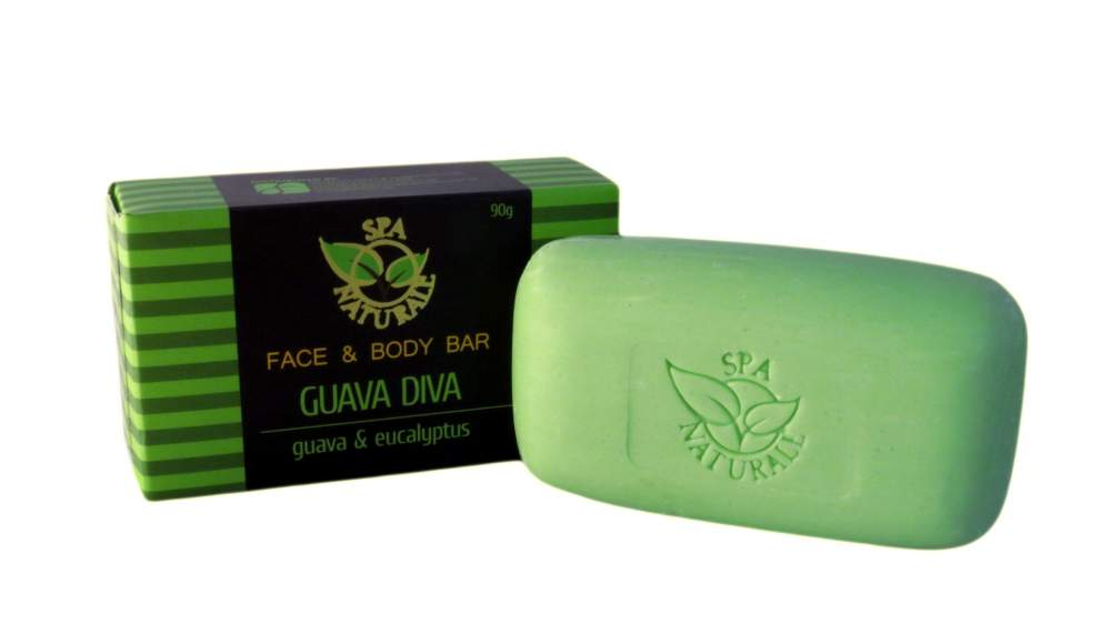 Buy Spa Naturale Face and Body Bar in Guava Diva