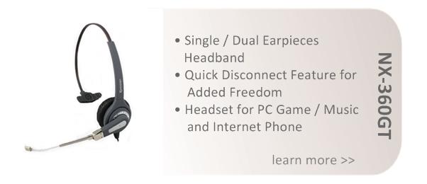 Buy NEOVOX HEADSET MODEL: NX360D-GT