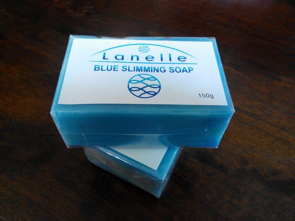 Buy Lanelle Blue Slimming Soap 150g.