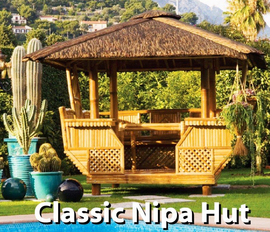 Nipa Hut Interior Classic Nipa Hut Gazebo