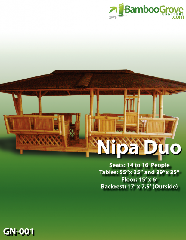 Buy Nipa Duo Gazebo