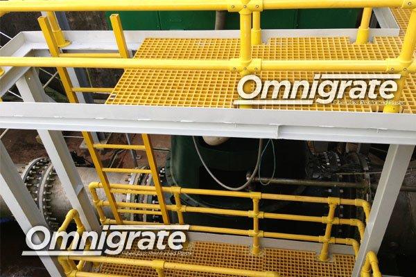 Buy Omnigrate™ Fiberglass Reinforced Plastic (FRP) Gratings & Composite Profiles