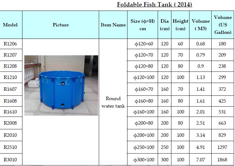 Buy Foldable fish tank
