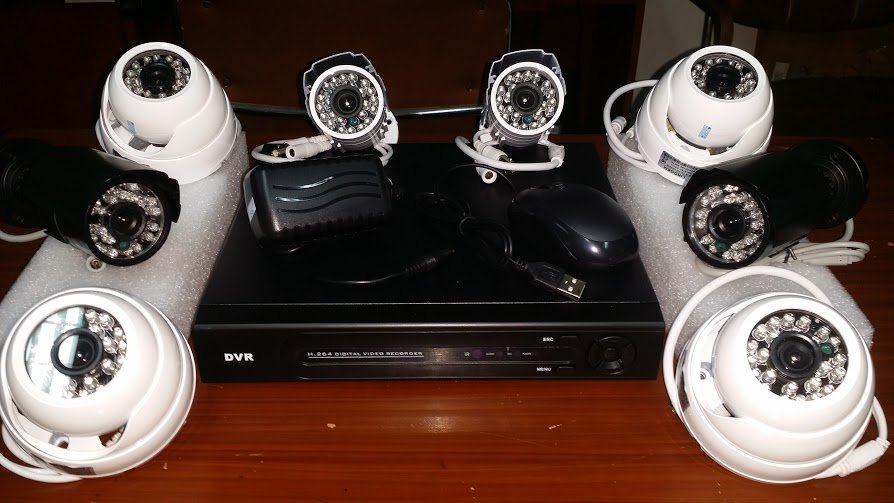 Buy CCTV Philippines 8 channel package