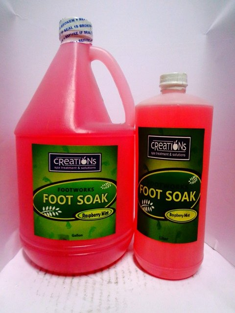 Buy Foot Soak, Foot Spa Products, Raspberry Mint