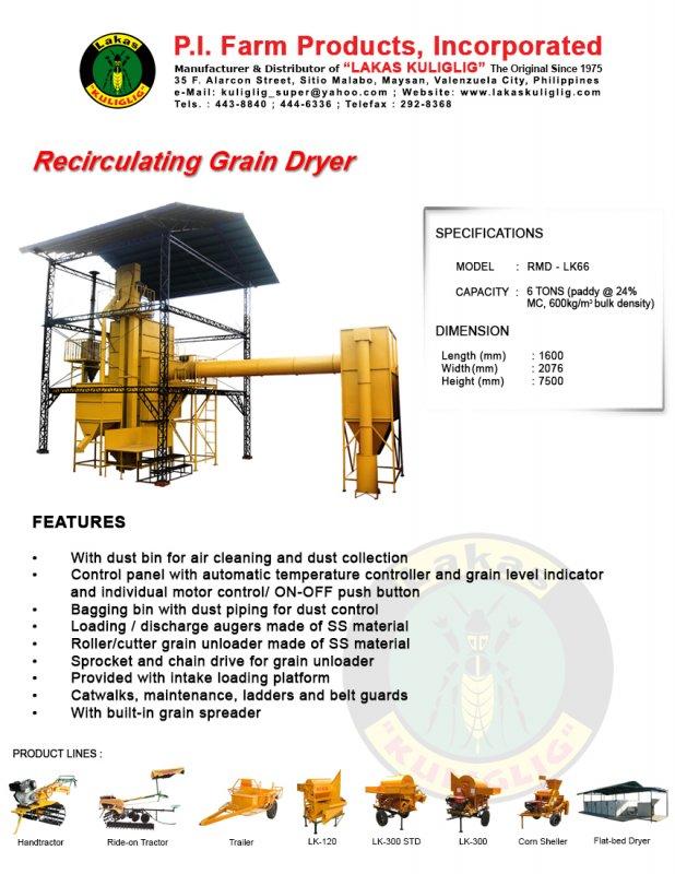 Buy Recirculating Grain Dryer