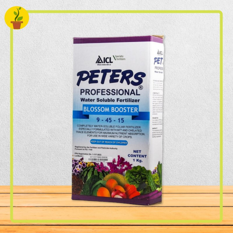 Buy Peters Blossom Booster Water Soluble Foliar Fertilizer (9-45-15 + M.E.) [1,000 Grams]- By: Cultivera