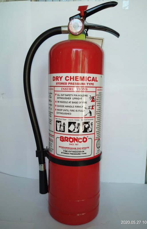 Buy Bronco Fire Extinguisher - Dry Chemical Type (4.5kg)