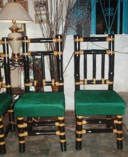 Buy High Back Bamboo Chair