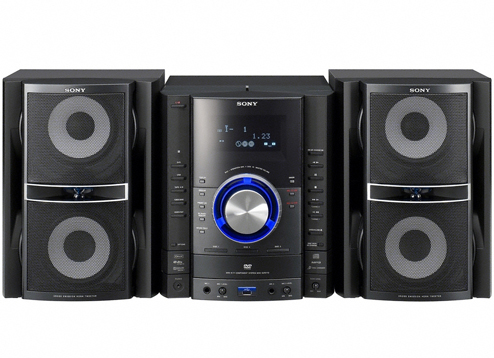 SONY USB Mini DVD Hi-Fi System
