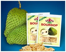 Dried Soursop.