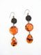 Buy Ear pendants made ​​of semiprecious stones