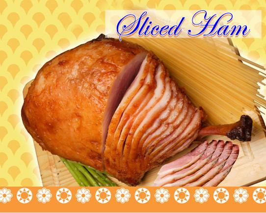 Buy Pork ham slices