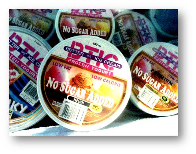 Buy Yogurt frozen.