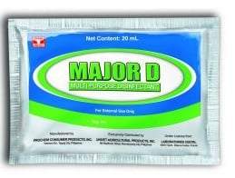 Veterinary Products (OTC)  MAJOR D