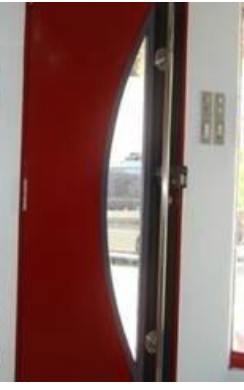 Special Design Metal Door