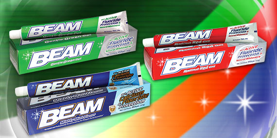 Buy Beam Toothpaste with Active Fluoride