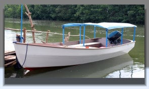 Buy Motor Boat with Awning