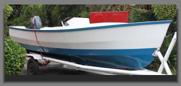 Buy Motor boat fiberglass