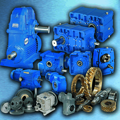 Industrial Gearboxes & Gears