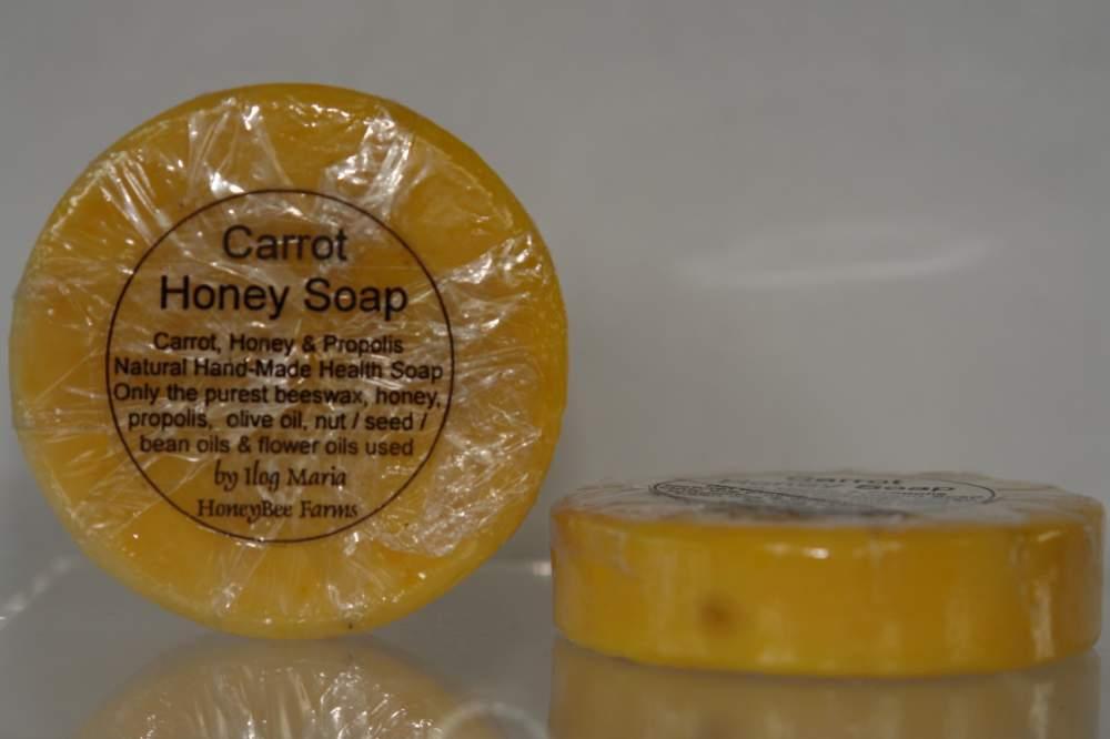 Buy Carrot Soap - (Orange with carrot bits - Mini Soap)