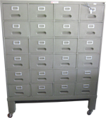 Index Card File Cabinet 24 Drawers