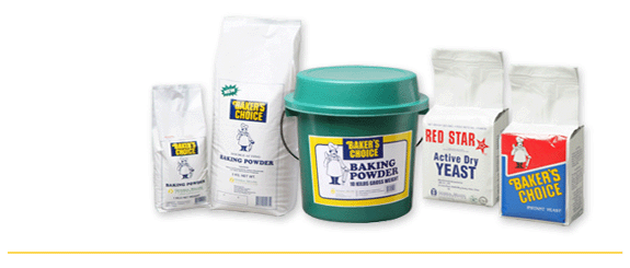 Buy Yeast and Baking Powder