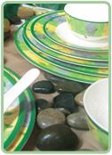 Buy Melamine dishes Falling Leaves
