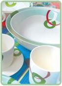 Buy Tableware Pastel Rings