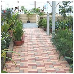 Claystone Pavers Heritage Red