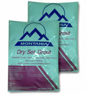 Montania Dry Set Grout